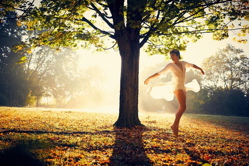 dancing brings joy